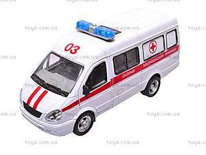 Уценка Инерционный микроавтобус «Скорая помощь», 9098-C, игрушки