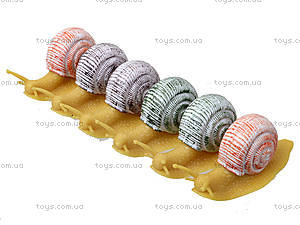 Улитка-тянучка «Гонконг», 6 штук, A141DB, детские игрушки