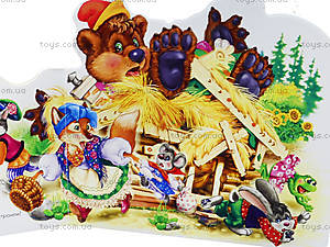 Мини-книга «Любимая сказка: Теремок», М332007Р, фото
