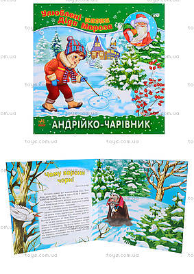 Сказки Деда Мороза «Андрюша-волшебник», Ч573004У