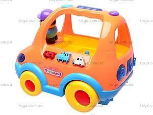 Умная машинка «Познавайка», 6013R, игрушки