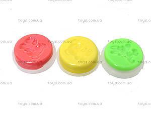 Умный прыгающий пластилин в банке с печатью маленький, PR117, игрушки