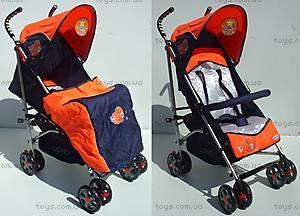 Универсальная коляска-трость, оранжевая, DL-02