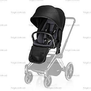 Универсальный прогулочный блок Priam Lux Seat «Black Beauty Denim-black», 515215201