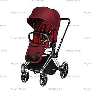 Универсальный прогулочный блок Priam Lux Seat «Hot & Spicy Denim-red», 515215209, купить
