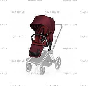 Универсальный прогулочный блок Priam Lux Seat «Hot & Spicy Denim-red», 515215209