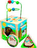 Универсальный куб детский «Ферма», Д374