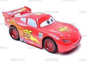 Управляемая детская машина «Тачки», 6777-25, игрушки