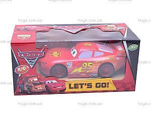 Управляемая детская машина «Тачки», 6777-25, детские игрушки
