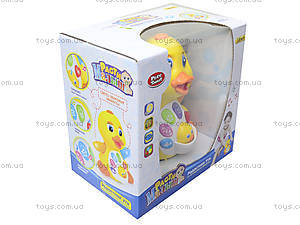 Музыкальный утенок «Радостная Утя», 7446, детские игрушки