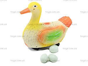 Детская музыкальная игрушка «Утка-несушка», 979, цена