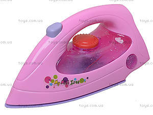 Игрушечный детский утюг с эффектами, 2037A, детские игрушки