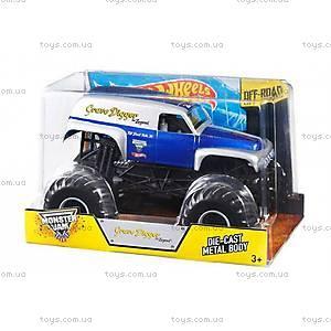 Увеличенная машинка-внедорожник серии Monster Jam Hot Wheels, CBY61, фото