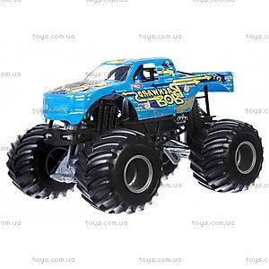 Увеличенная машинка-внедорожник серии Monster Jam Hot Wheels, CBY61, магазин игрушек