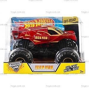 Увеличенная машинка-внедорожник серии Monster Jam Hot Wheels, CBY61, toys.com.ua