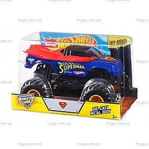 Увеличенная машинка-внедорожник серии Monster Jam Hot Wheels, CBY61, детский