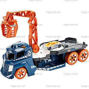 Грузовик с краном со звуковыми и световыми эффектами Hot Wheels, DJC69, купить