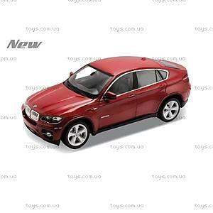 Коллекционная машинка BMW X6, масштаб 1:24, 24004W