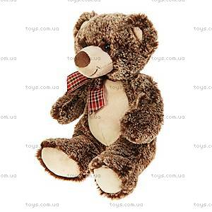 Мягкая игрушка «Медвежонок с бантиком», 28 см, 41-7113B, купить