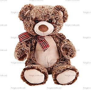Мягкая игрушка «Медвежонок с бантиком», 28 см, 41-7113B
