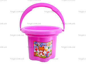Детское ведро «Цветочек», 39019, toys.com.ua