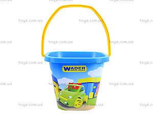 Детское ведро для игры в песочнице , 71714, фото