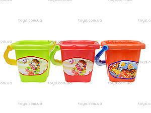 Песочное ведро для игры, 01-135, детские игрушки