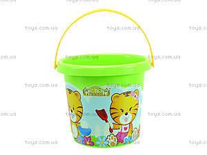 Детское ведро «Тигренок», 39017, toys.com.ua