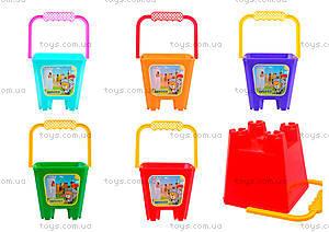 Детское ведро «Замок», 39021