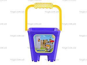 Детское ведро «Замок», 39021, игрушки