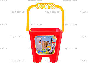 Детское ведро «Замок», 39021, детские игрушки