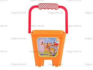 Детское ведро «Замок», 39021, магазин игрушек