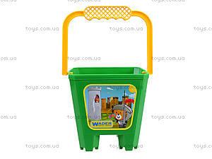 Детское ведро «Замок», 39021, toys.com.ua