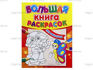 Большая книга раскрасок «Для малышей», К16078РК207005Р, цена