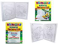 Большая книга раскрасок «Животные», К16080РК207007Р, фото