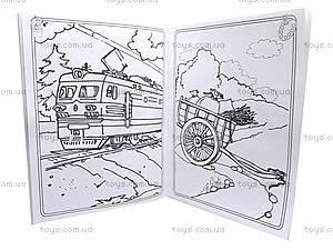 Большая книга раскрасок «Транспорт», К16072РК207010Р, купить