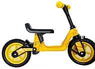 Велобег 10 дюймов Cosmo bike (желтый), 11-014 ЖЁЛ, доставка