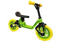 Беговел Cosmo bike салатовый, 11-014 САЛАТ, игрушка