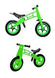 Велобег 12 дюймов EVA колеса (салатовый), 11-016 САЛ, отзывы