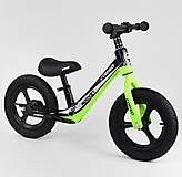 """Велобег колеса 12"""" надувные, магниевая рама, подножка, салатовый, 14452, купить игрушку"""