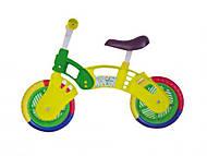 Велобег STAR BIKE, желто-зеленый , 11-012 ЖЗ, доставка