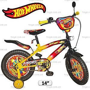 Велосипед 2-х колесный Hot Wheels, 131409