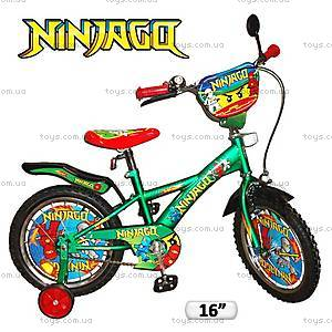 Велосипед 2-х колесный «Ниндзяго» , 131604