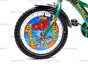 Велосипед 2-х колесный Ninjago, 131804, детские игрушки