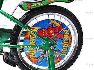 Велосипед 2-х колесный Ninjago, 131804, магазин игрушек