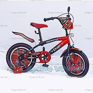 Велосипед 2-х колесный «Спринтер», с зеркалом, 111806