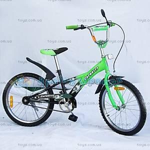 Велосипед 2-х колесный «Спринтер», зеленый, 102003