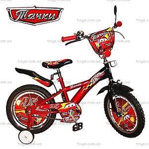 Велосипед 2-х колесный «Тачки», 132001