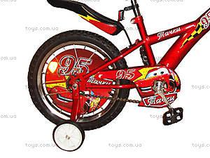 Велосипед 2-х колесный «Тачки» с зеркалом, 131411, купить