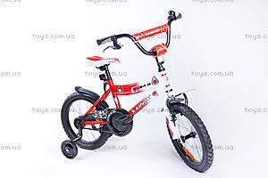 Велосипед двухколесный Cora 16 BMX, красный, RA-35-115